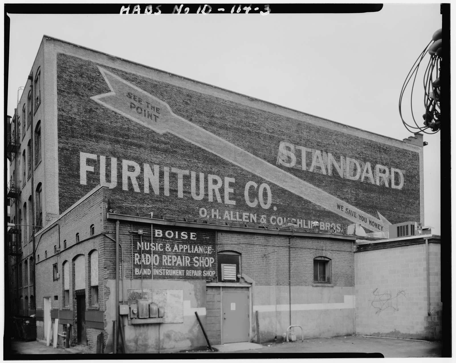 Allen-Wright Furniture Company, 817-819 West Bannock Street, Boise, Ada County, ID