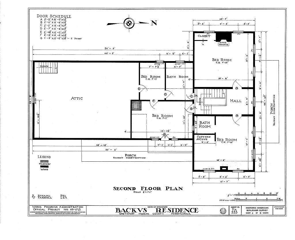 Backus House, Smethport, McKean County, PA