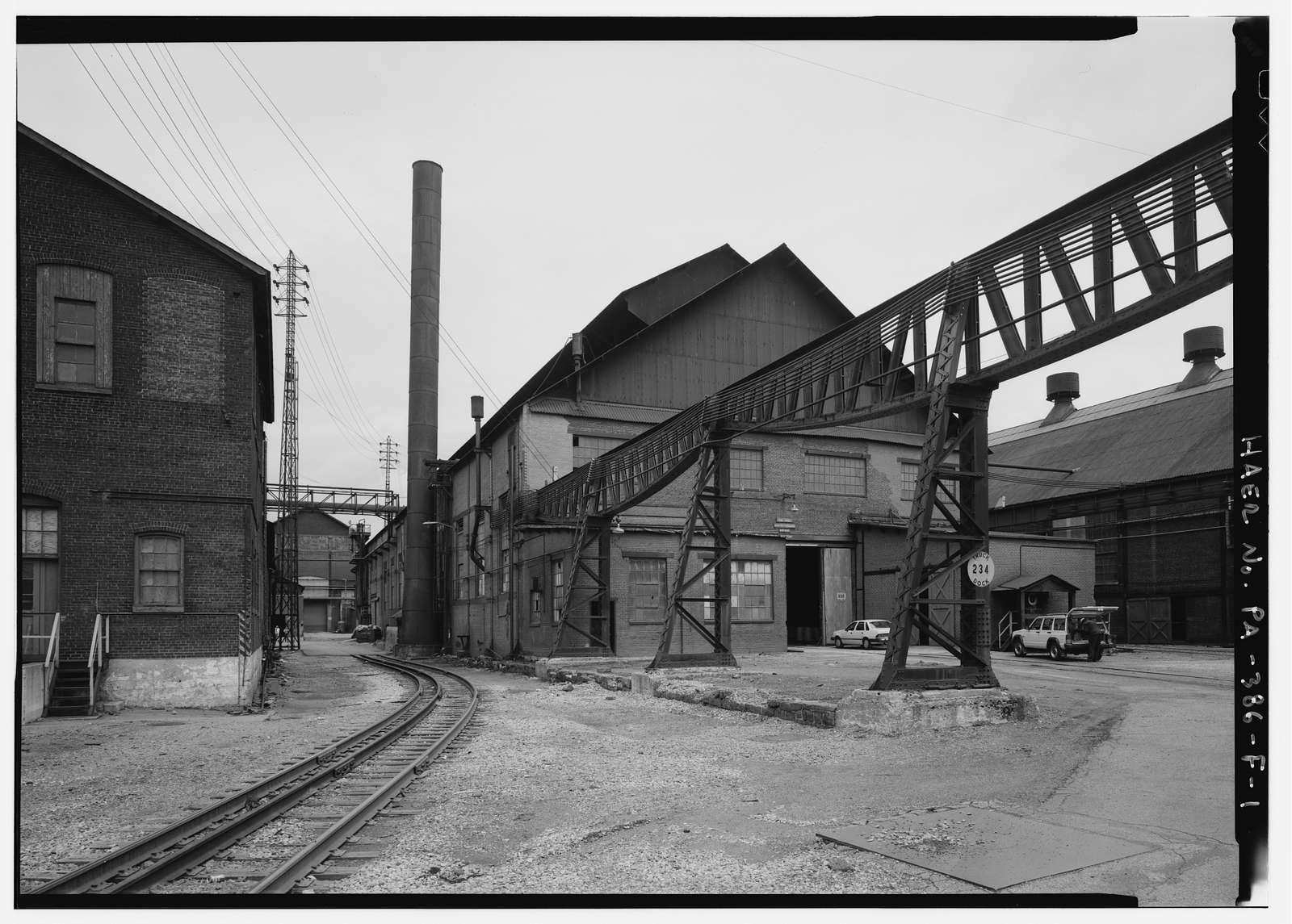 Bethlehem Steel Corporation, South Bethlehem Works, Tool Steel-Electric Furnace Shop, Along Lehigh River, North of Fourth Street, West of Minsi Trail Bridge, Bethlehem, Northampton County, PA