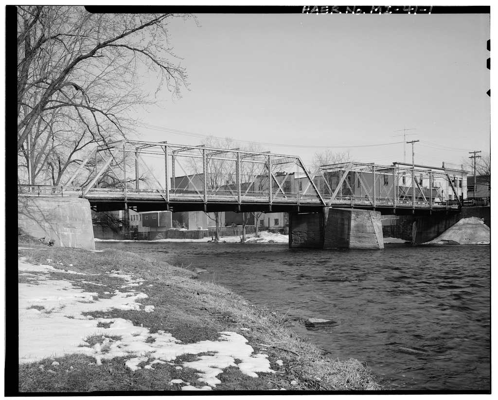 Bridge Street Bridge, Spanning Grand River at Bridge Street, Portland, Ionia County, MI