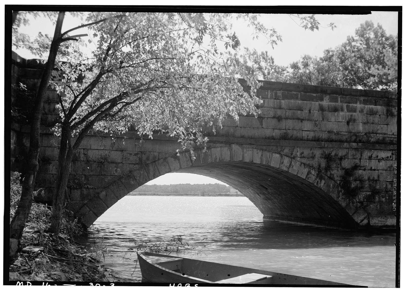 Chesapeake & Ohio Canal, Aqueduct No. 1, Riley's Lock Road Vicinity, State Route 190, Seneca, Montgomery County, MD