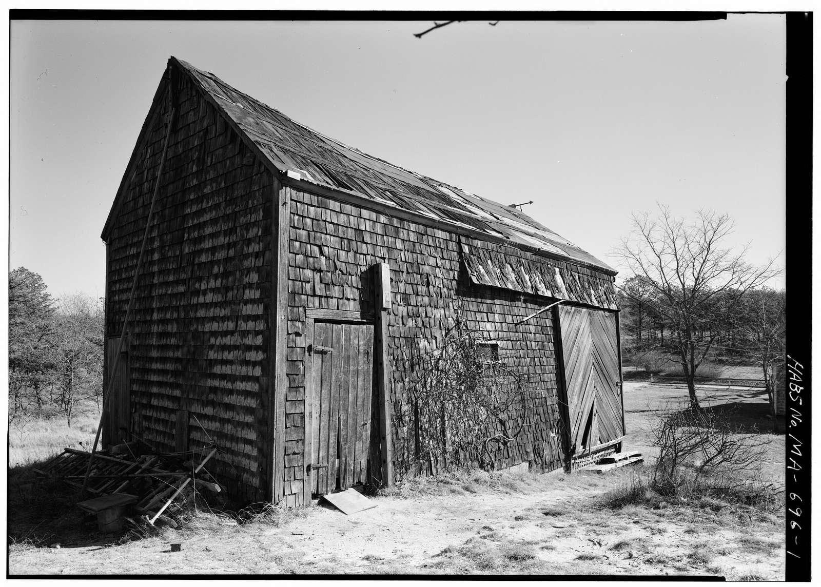 Daniel P. Higgins Barn, Higgins Hollow Road, Truro, Barnstable County, MA