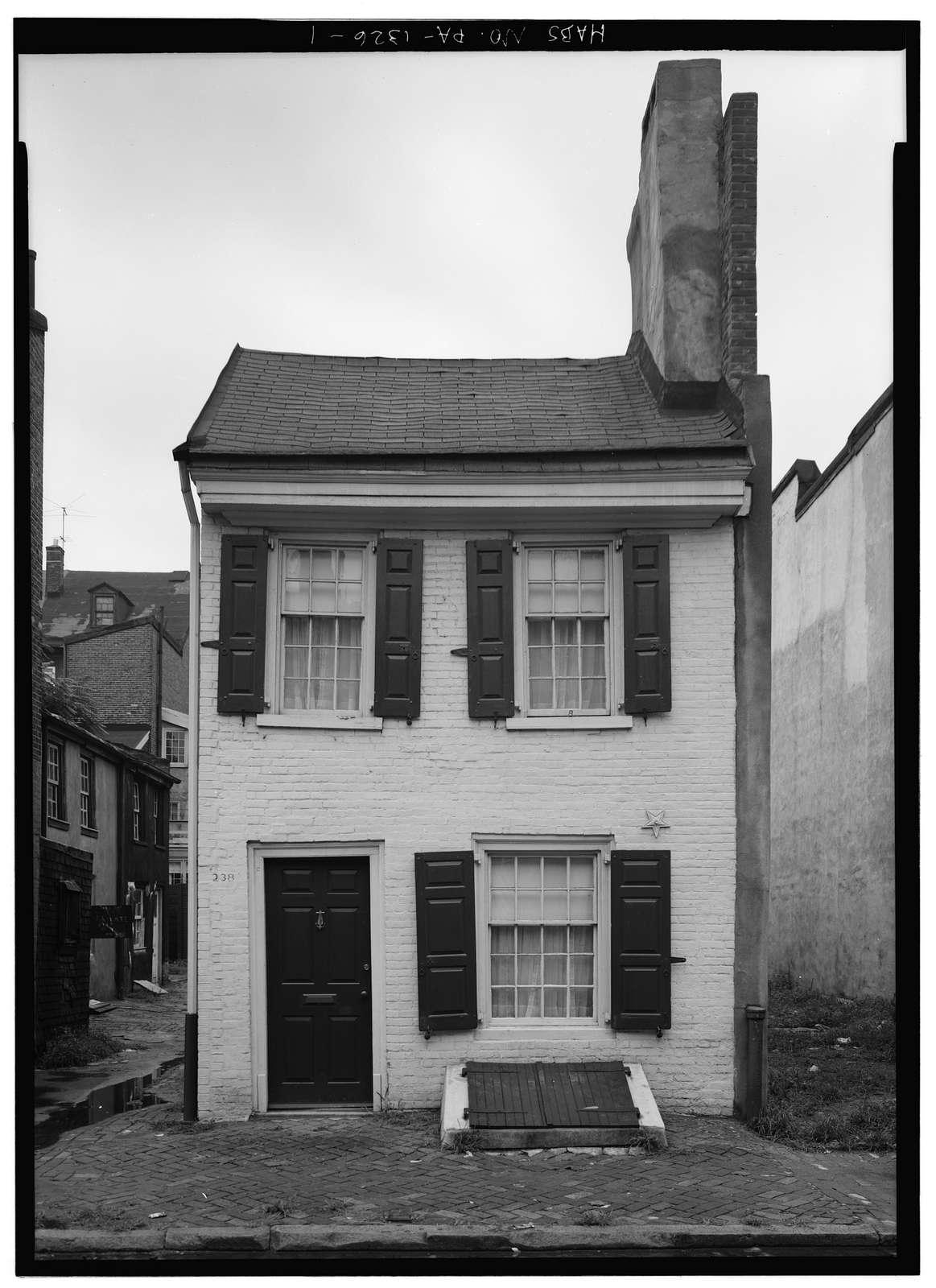 Drinker's Court, 236-238  Delancey Street, Philadelphia, Philadelphia County, PA