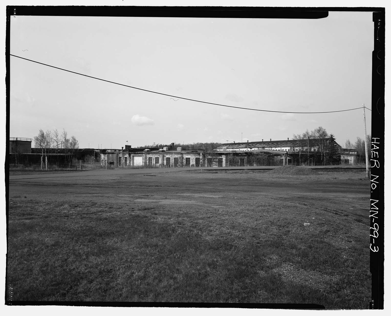 Duluth & Iron Range Rail Road Company Shops, Southwest of downtown Two Harbors, northwest of Agate Bay, Two Harbors, Lake County, MN