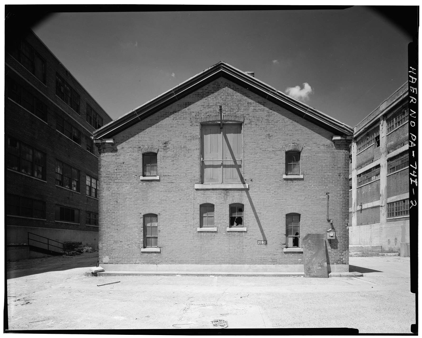 Frankford Arsenal, Building No. 206, Bridge & Tacony Streets, Philadelphia, Philadelphia County, PA
