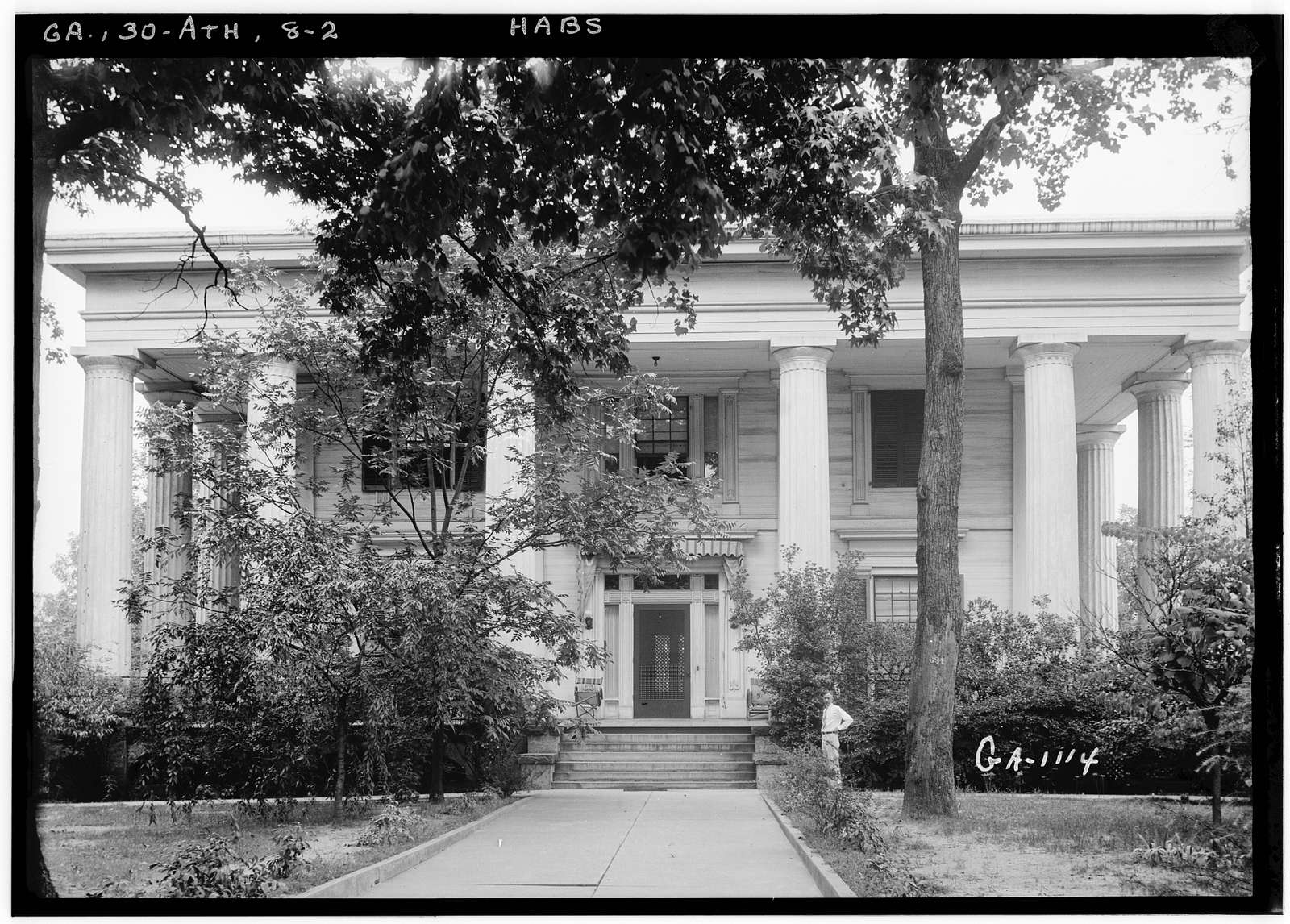 General R. D. B. Taylor House, 634 Prince Avenue, Athens, Clarke County, GA
