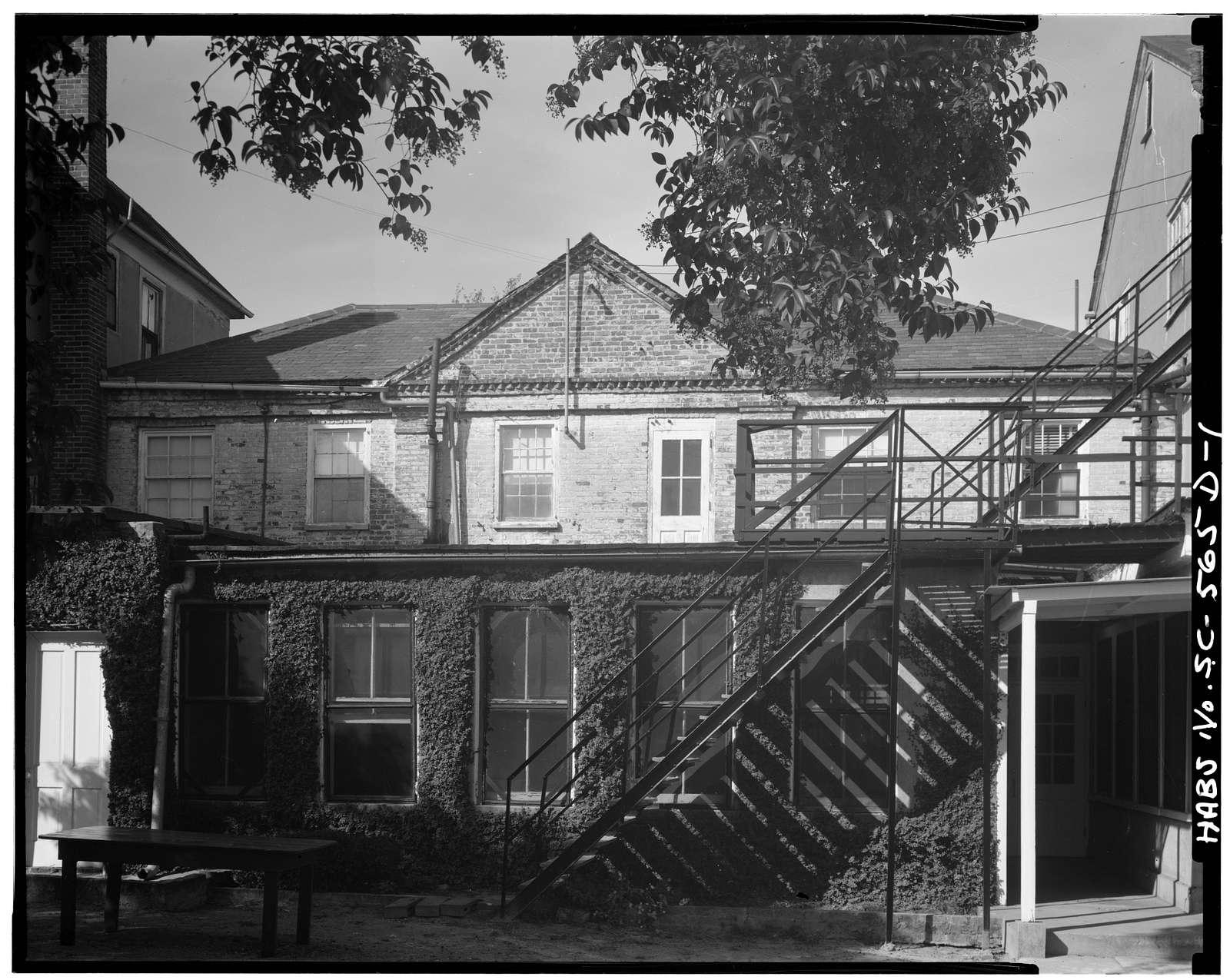 George A. Trenholm House, Addition B, 172 Rutledge Avenue, Charleston, Charleston County, SC