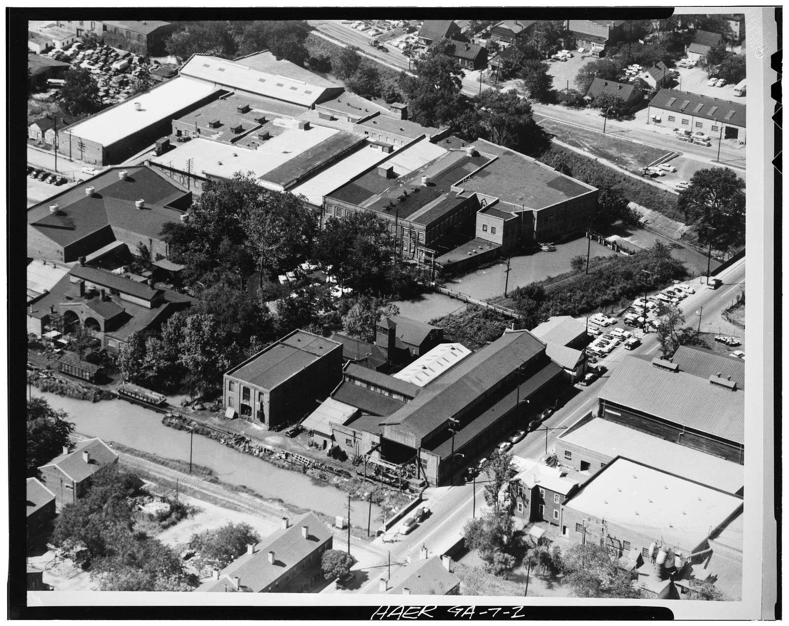 Georgia Iron Works, 620-640 Twelfth Street, Augusta Canal, Augusta, Richmond County, GA