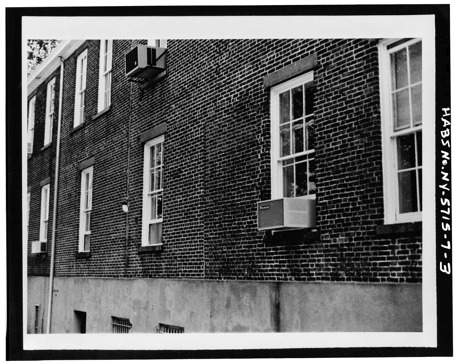 Governors Island, Building No. 25, New York Harbor, Nolan Park near Andes Road, New York, New York County, NY