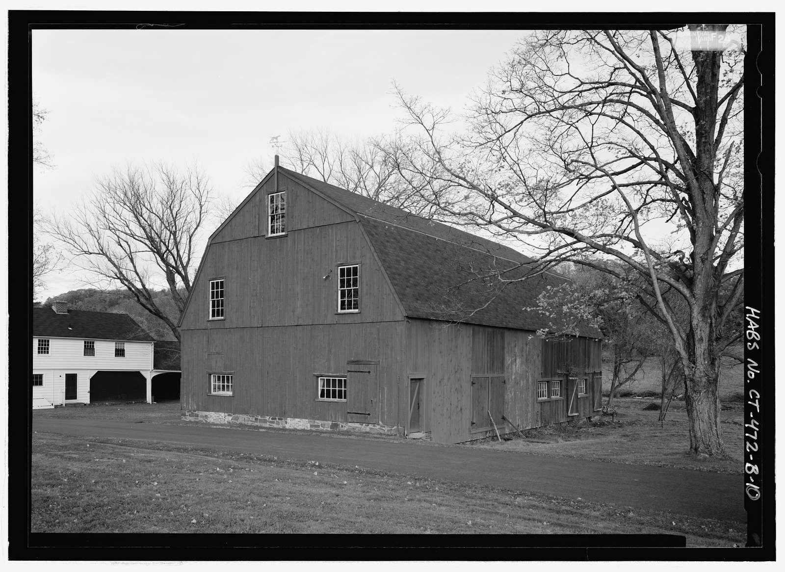 Hill-Stead, Farm Complex, 35 Mountain Road, Farmington, Hartford County, CT