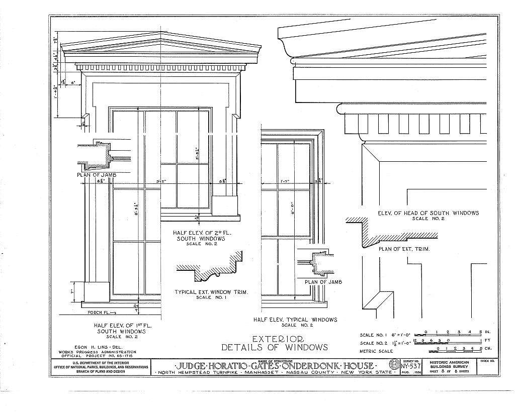 Judge Horatio Gates Onderdonk House, Strathmore Road & Rolling Hill Road, Manhasset, Nassau County, NY