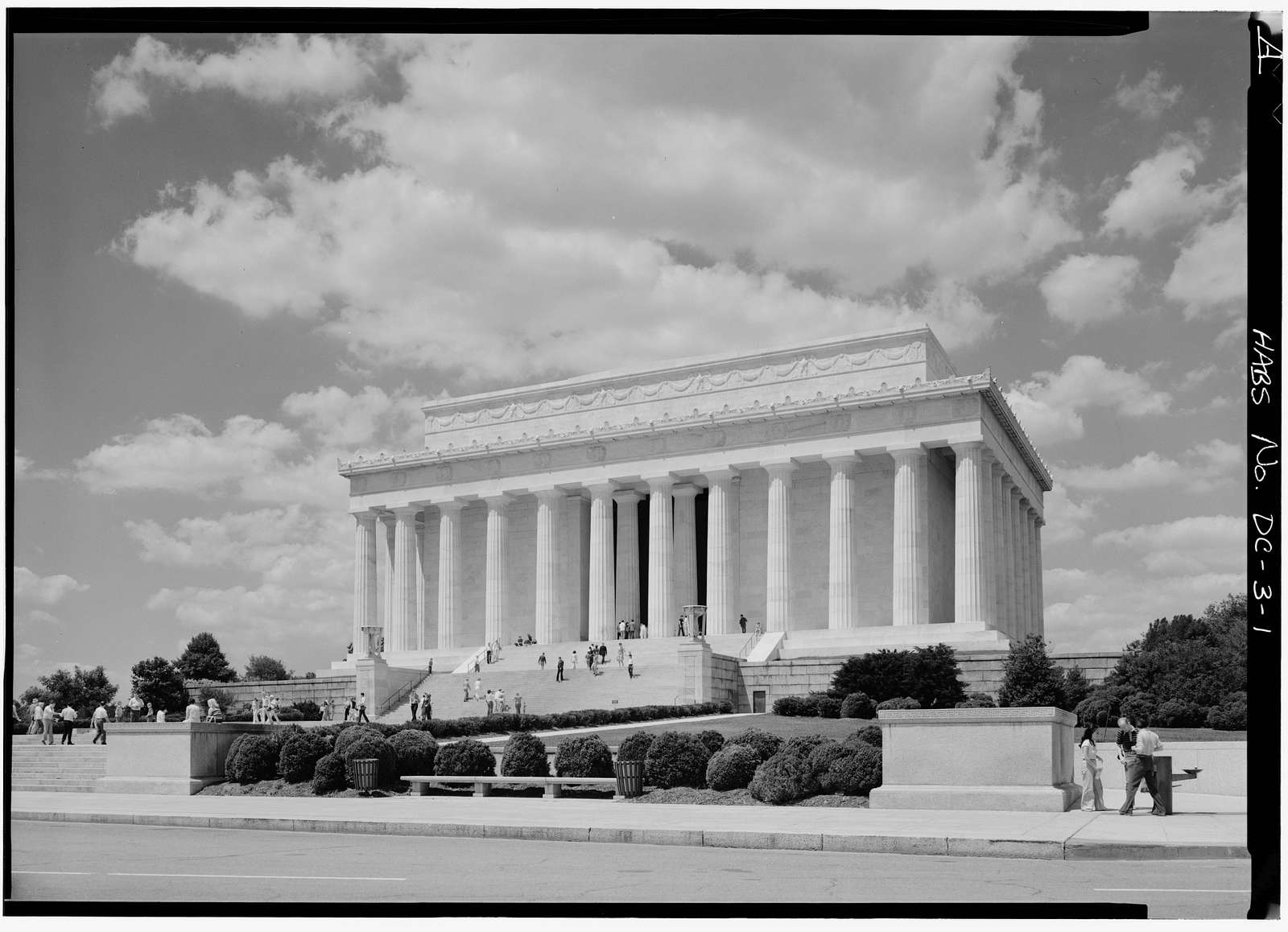 Lincoln Memorial, West Potomac Park, Washington, District of Columbia, DC