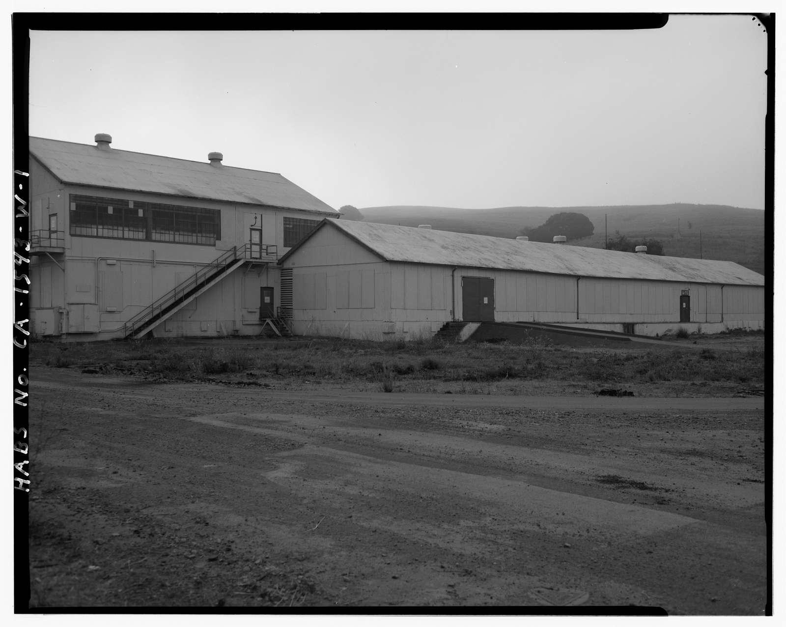 Mare Island Naval Shipyard, Magazine, California Avenue north of Fourth Street, Vallejo, Solano County, CA