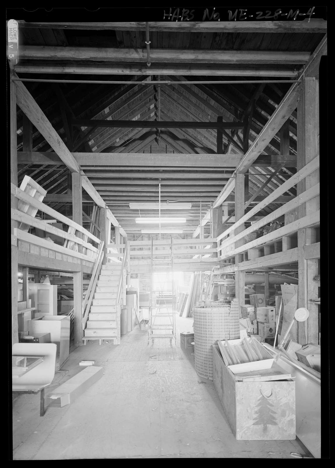 National Home for Disabled Volunteer Soldiers, Eastern Branch, Storage Barn, 1 VA Center, Augusta, Kennebec County, ME