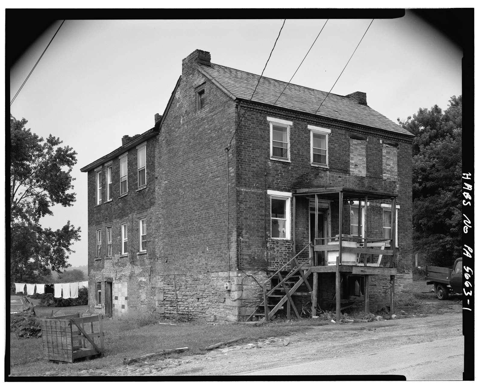 Overholt Company Workers House D, Frick Avenue, West Overton, Westmoreland County, PA