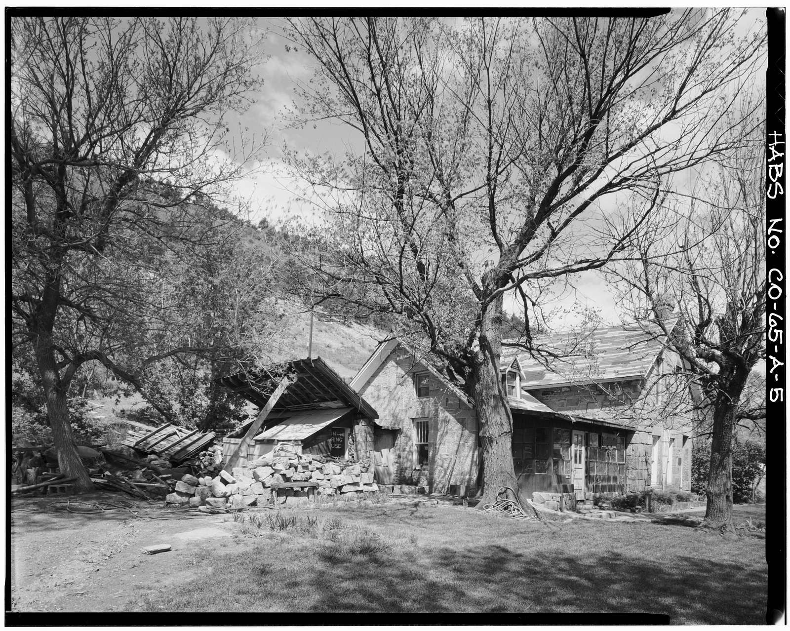 Rooney Ranch, Main House, Rooney Road & West Alamdea Parkway, Morrison, Jefferson County, CO