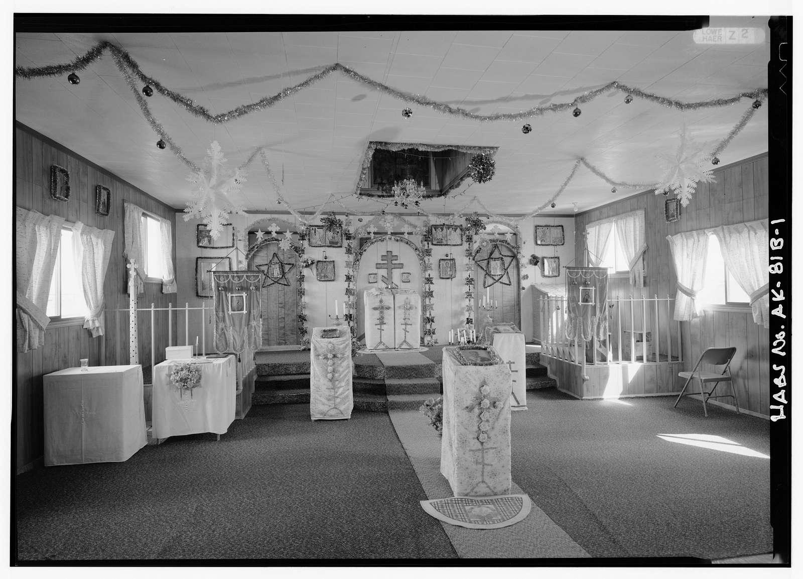 St. Nicholas Russian Orthodox Churches, New Church, Igiugig, Lake & Peninsula Borough, AK