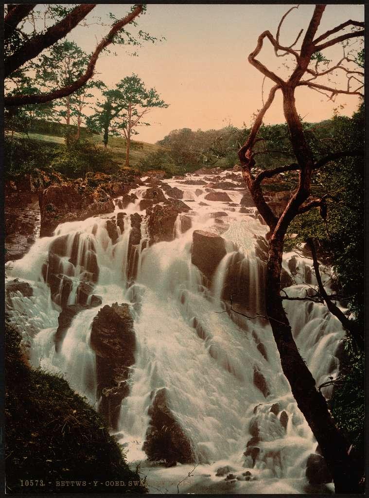 [Swallow Falls I, Fairy Glen, Bettws-y-Coed (i.e. Betws), Wales]