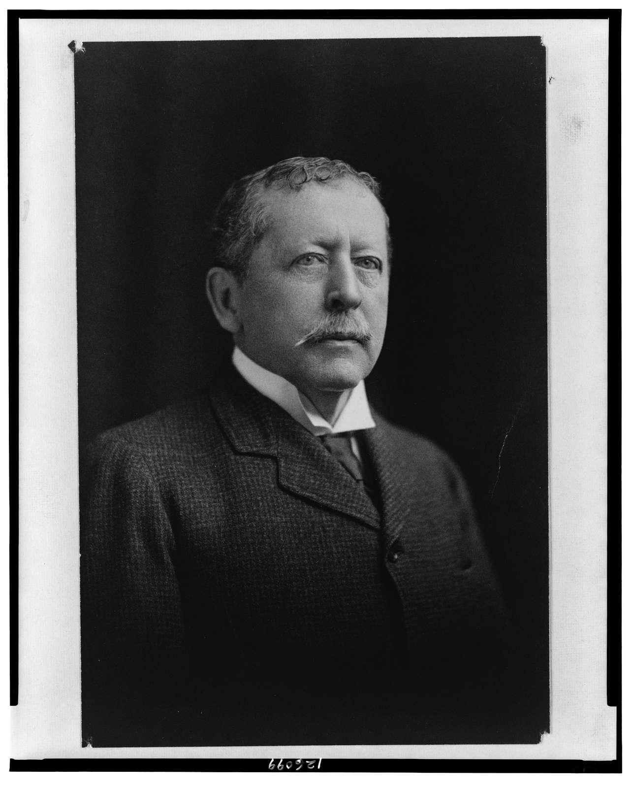 [Thomas Bailey Aldrich, head-and-shoulders portrait, facing front] / Maria Maude Robinson (?).