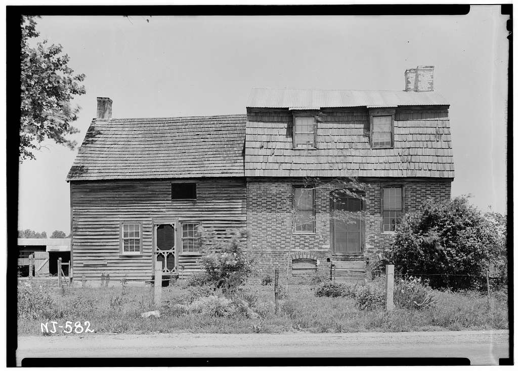 Thomas Maskell House, Bacon's Neck Road, Greenwich, Cumberland County, NJ