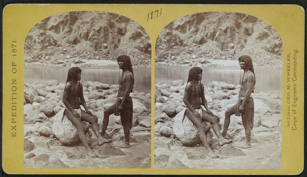 Types of Mojave Indians.
