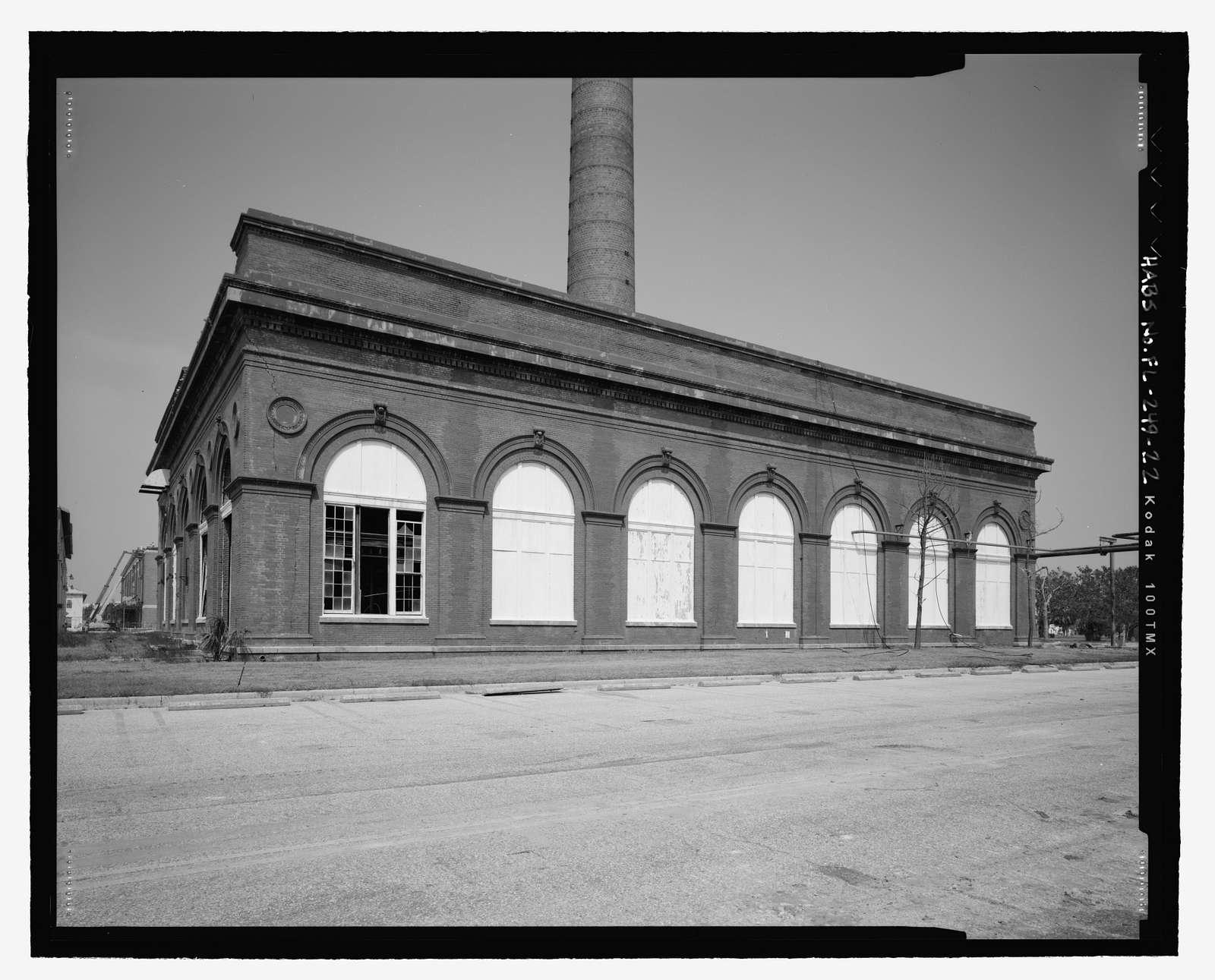 U.S. Naval Air Station, Power Plant, 328 South Avenue, Pensacola, Escambia County, FL