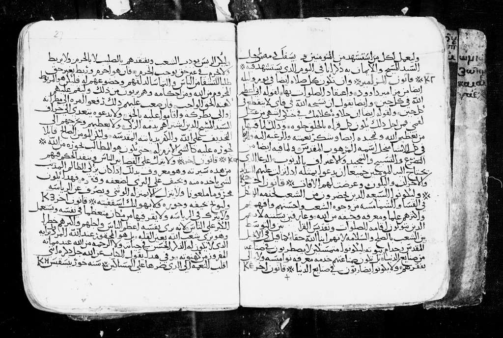 Arabic Manuscripts 393. Canons of Oecumenical Councils