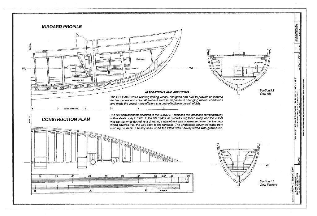 "Auxiliary Fishing Schooner ""Evelina M. Goulart"", Essex Shipbuilding Museum, 66 Main Street, Essex, Essex County, MA"