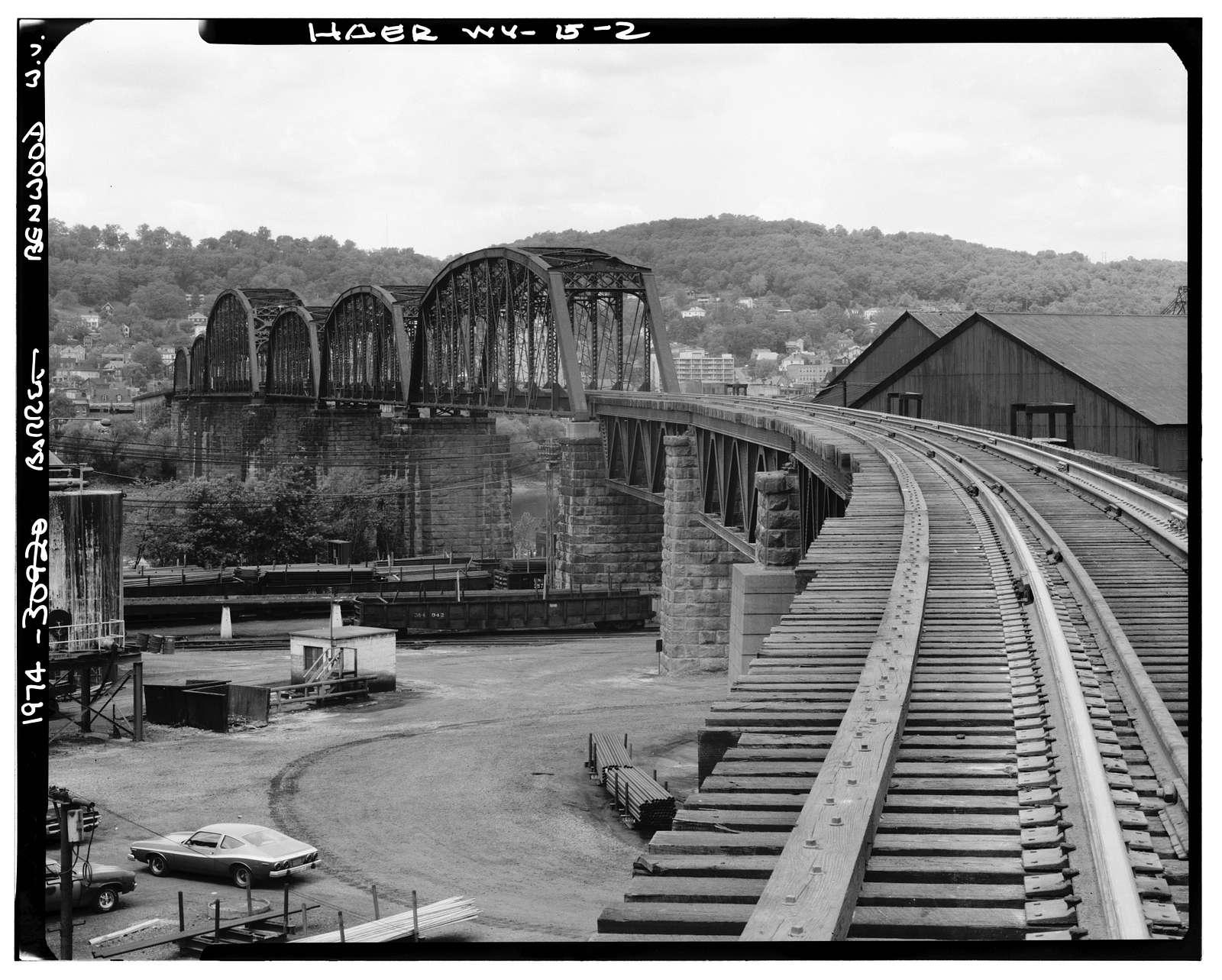 Baltimore & Ohio Railroad, Benwood Bridge, Benwood, Marshall County, WV