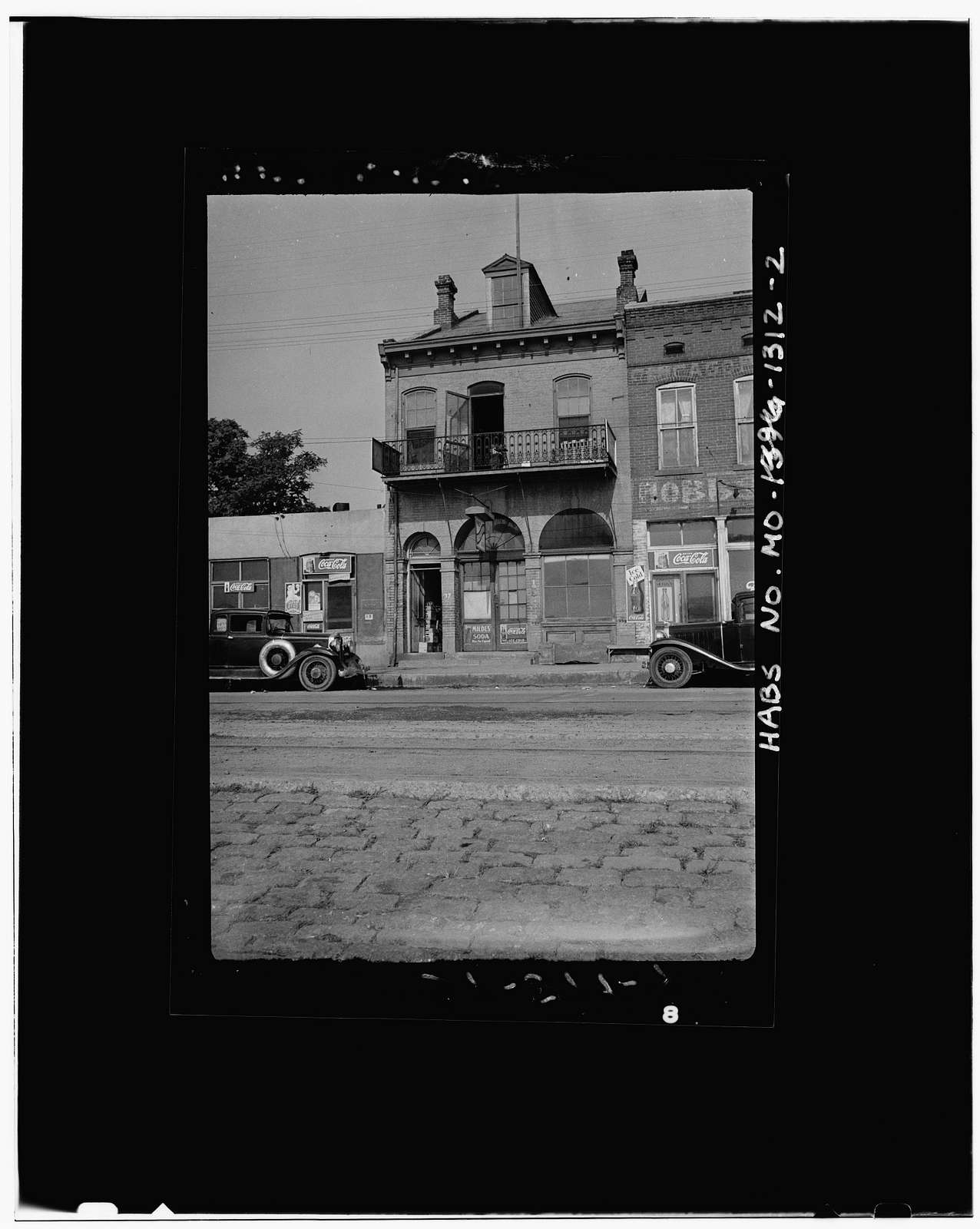 Brick Wharf Buildings, Cape Girardeau, Cape Girardeau County, MO