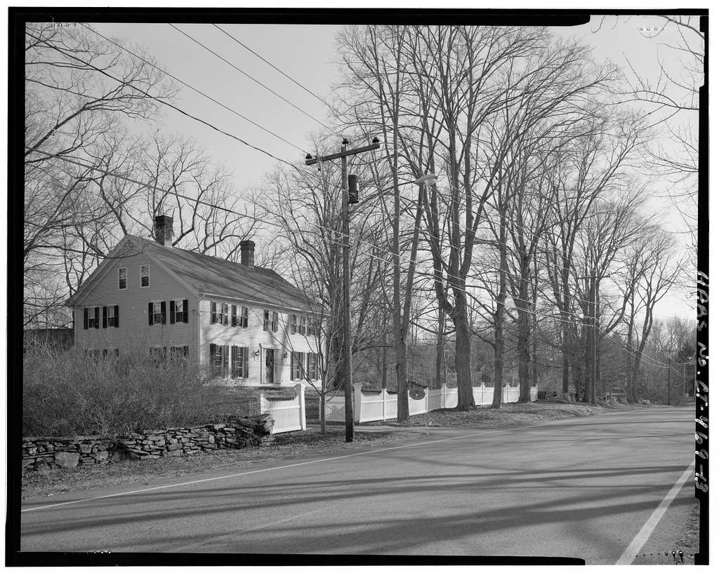 Brooklyn Green, North Green, South Green, & West Green, parts of Brown Road, Canterbury Road (Route 169), Hartford Road (Route 6), Hyde Road, Pomfret Road (Route 169), Prince Hill Road, Providence Road (Route 6), Wauregan Road (Routes 169 & 205), & Wolf Den Road, Brooklyn, Windham County, CT