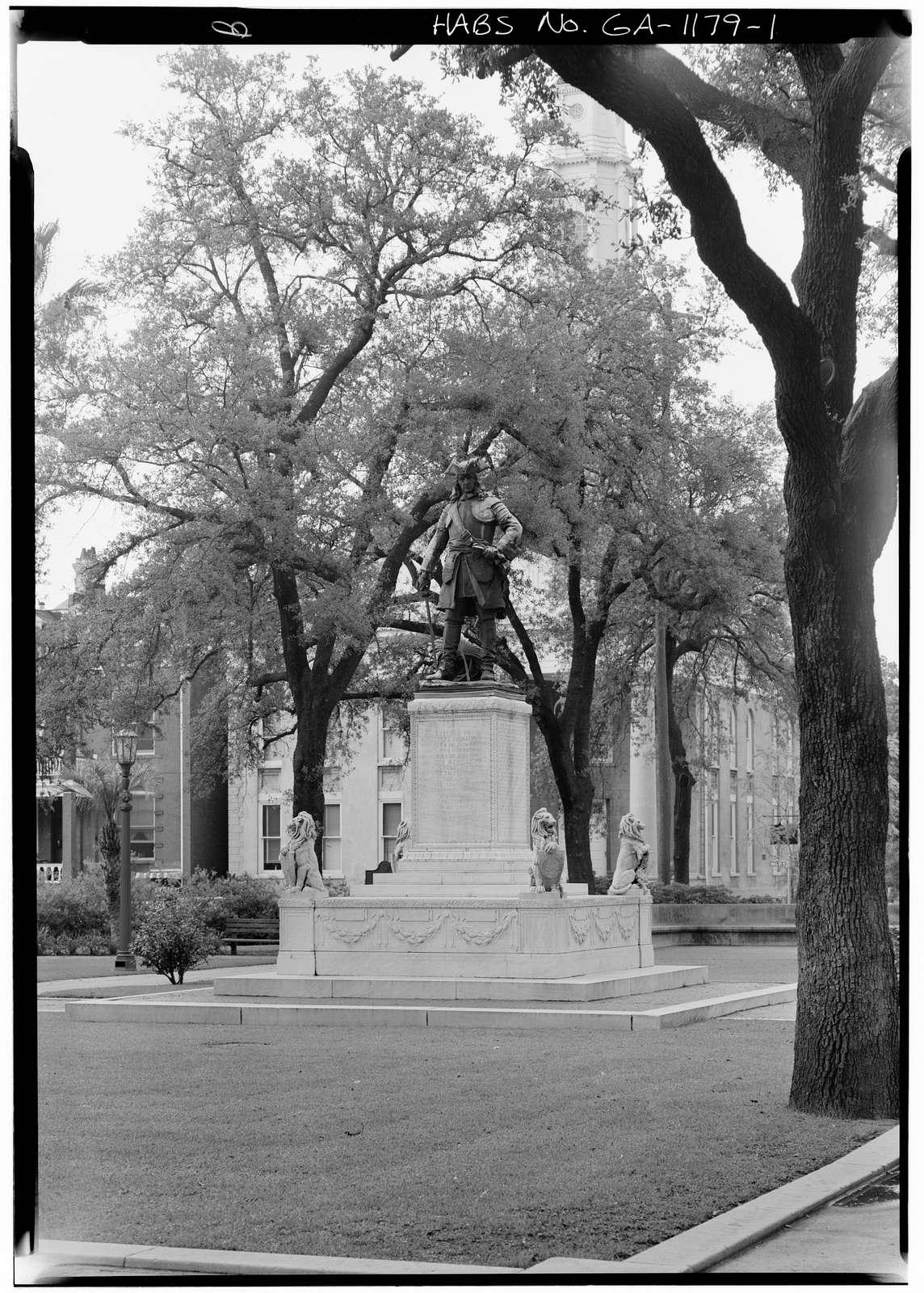 Chippewa Square Monument, Savannah, Chatham County, GA