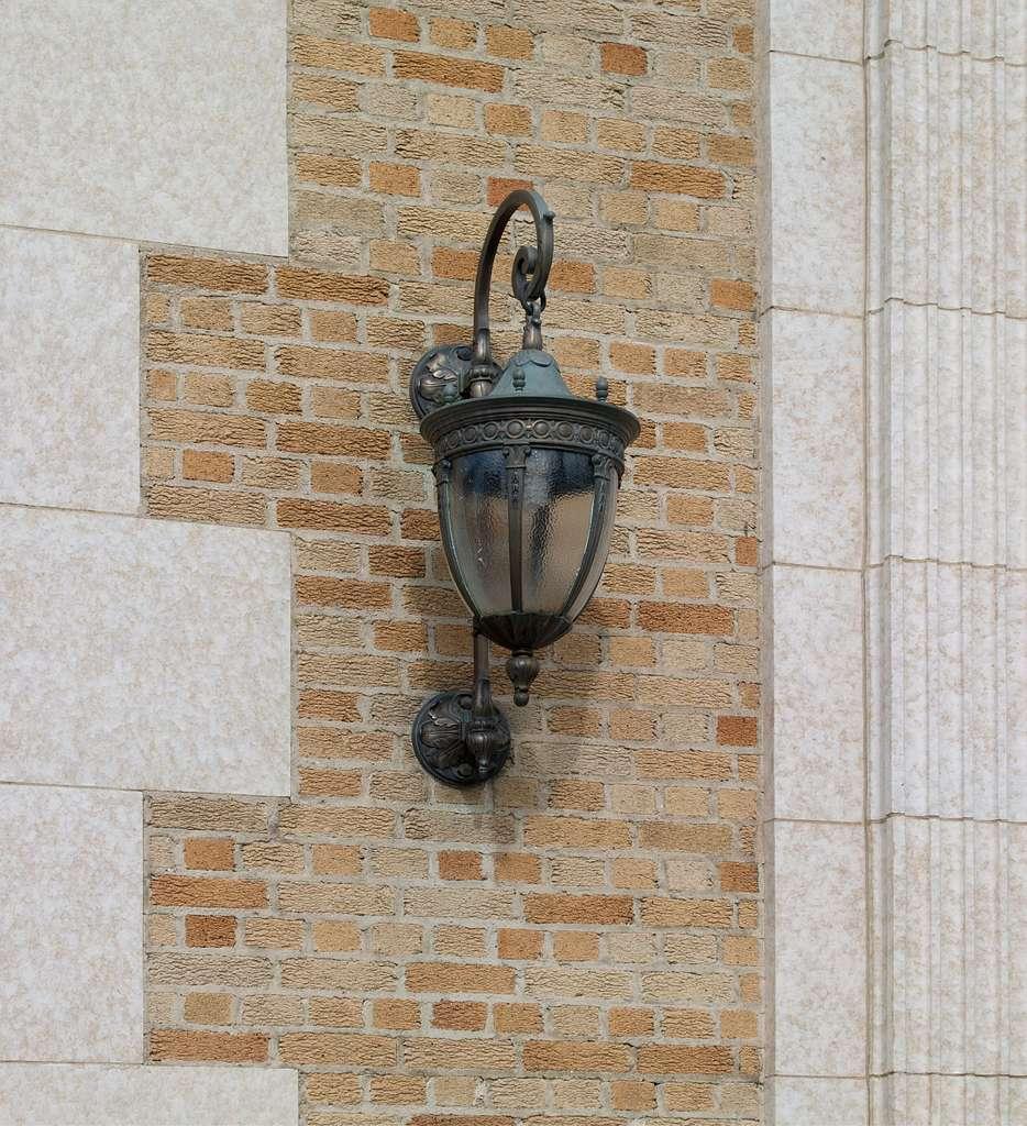 Exterior lamp, James A. Walsh U.S. Courthouse, Tucson, Arizona