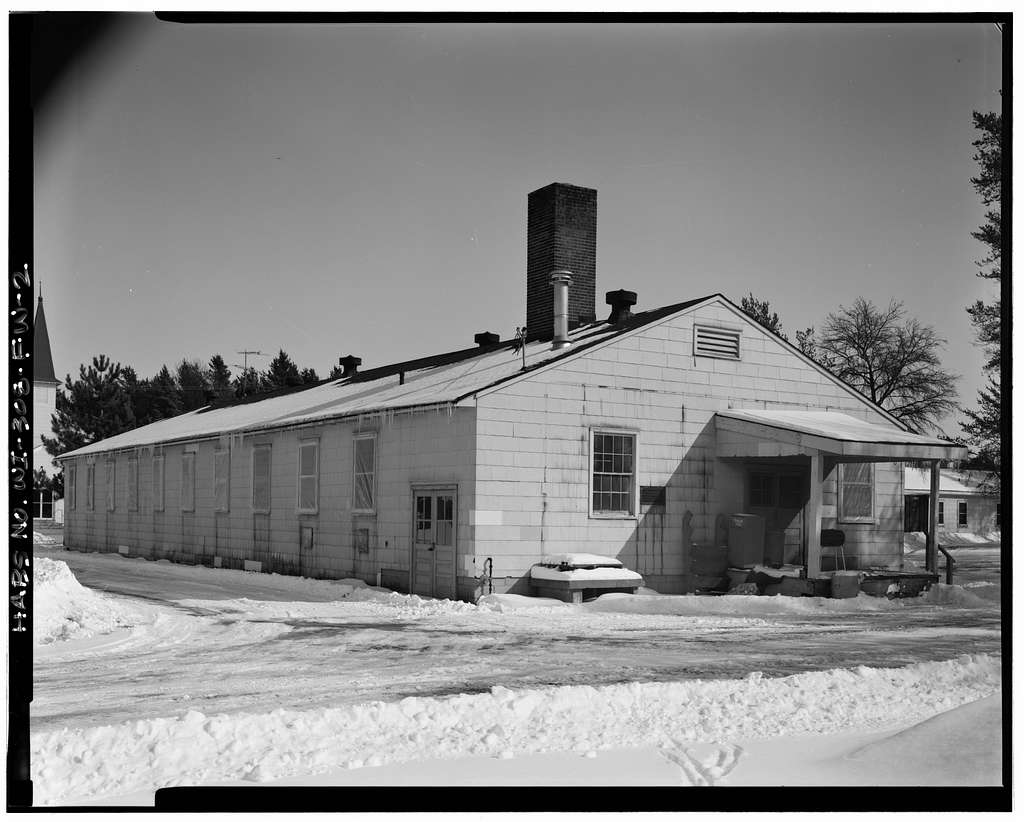 """Fort McCoy, Building No. T-2675, South """"F"""" Street, Midway Between 1700 Block & Intersection of South """"F"""" Street & West Eaton Road, Sparta, Monroe County, WI"""