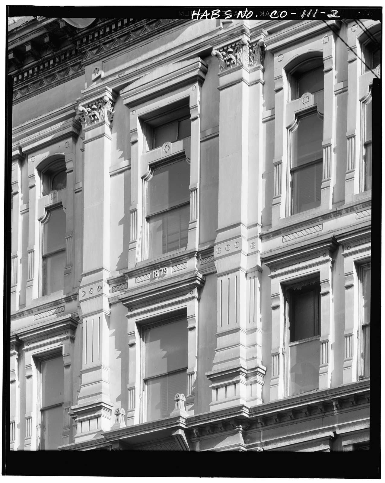 H.A.W. Tabor Block, Larimer & Sixteenth Streets, Denver, Denver County, CO