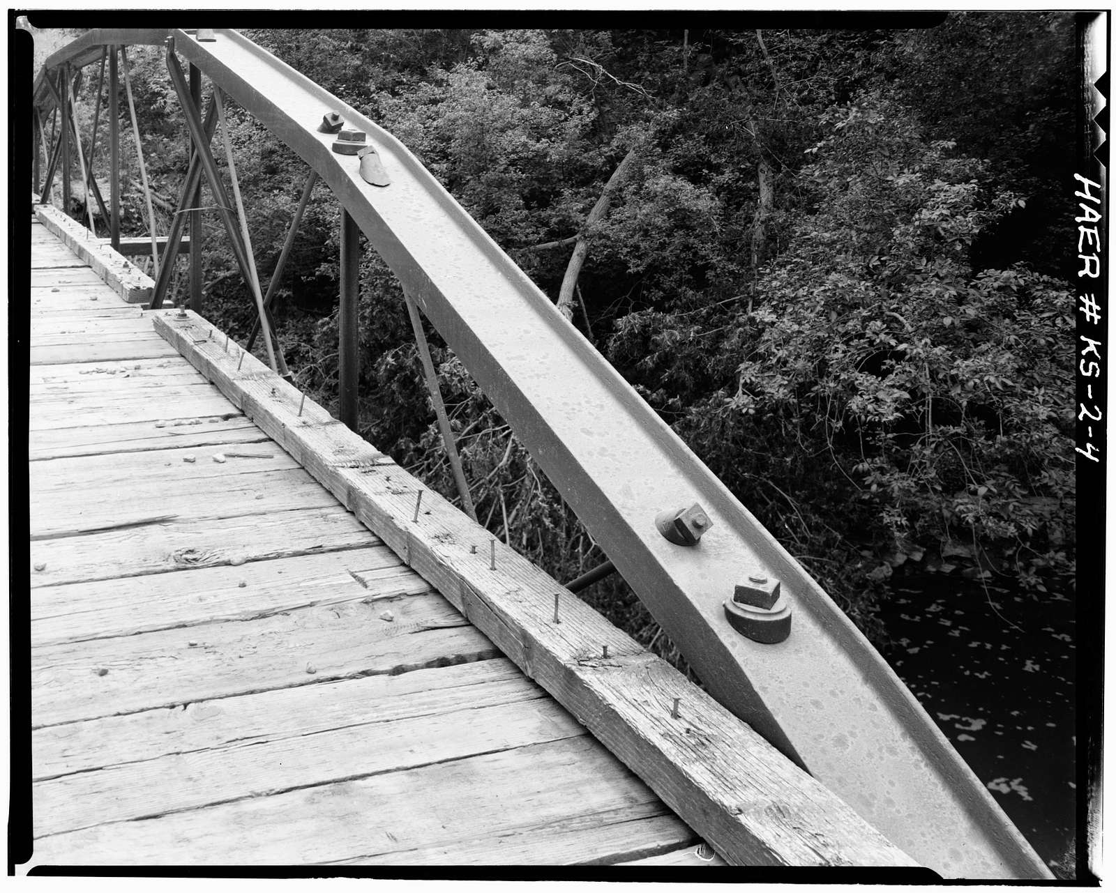 Meriden Rock Creek Bridge, Spanning Rock Creek, Meriden, Jefferson County, KS