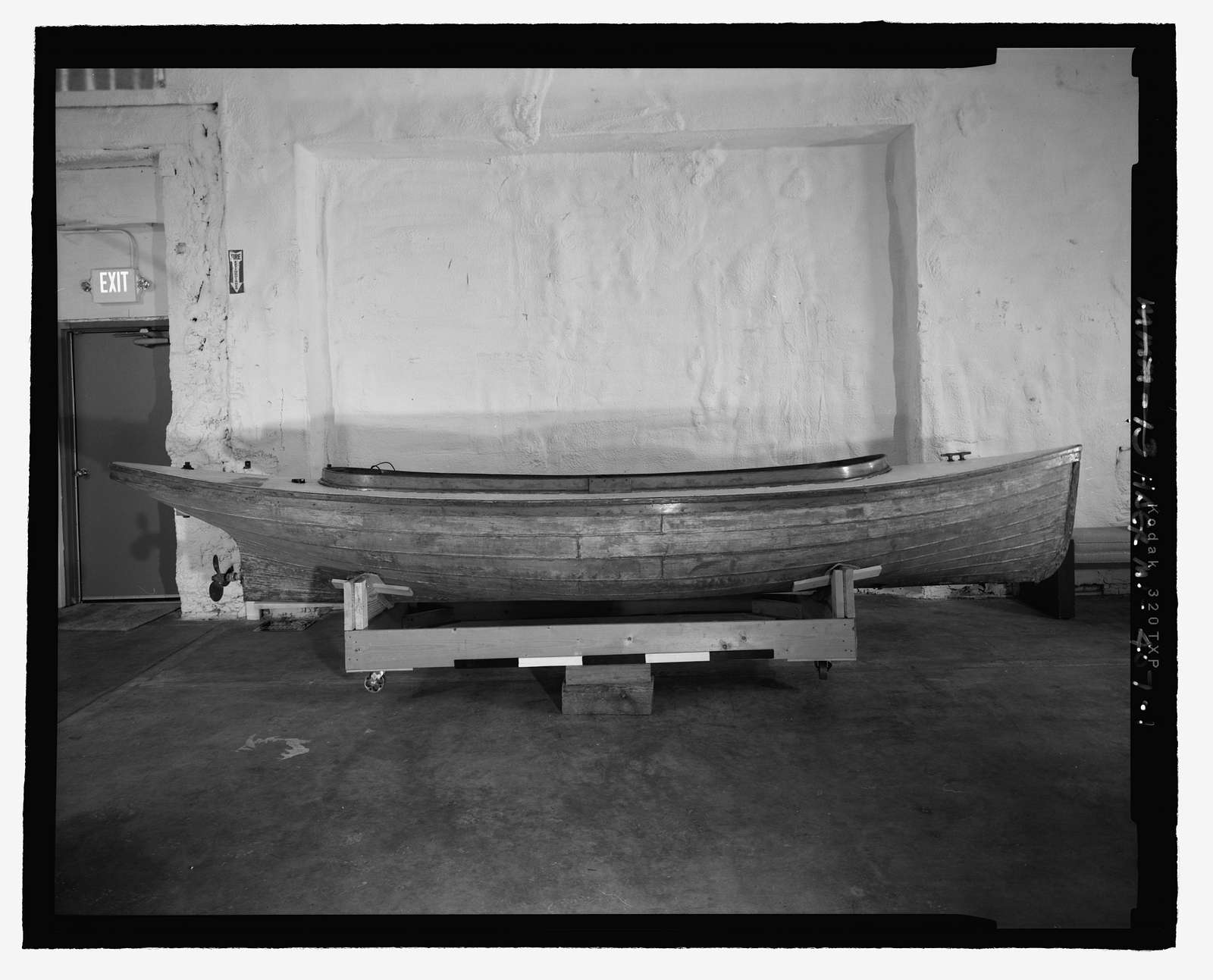 Metal Fantail Launch, Michigan Maritime Museum, South Haven, Van Buren County, MI
