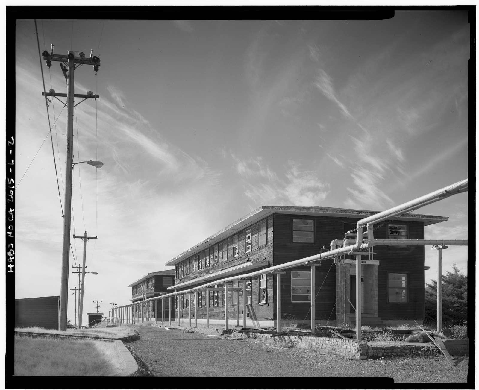 Mill Valley Air Force Station, Bachelor Airmen Quarters, East Ridgecrest Boulevard, Mount Tamalpais, Mill Valley, Marin County, CA