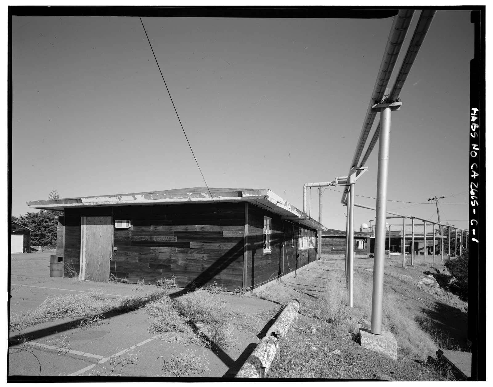 Mill Valley Air Force Station, Civil Engineering Maintenance Shop, East Ridgecrest Boulevard, Mount Tamalpais, Mill Valley, Marin County, CA