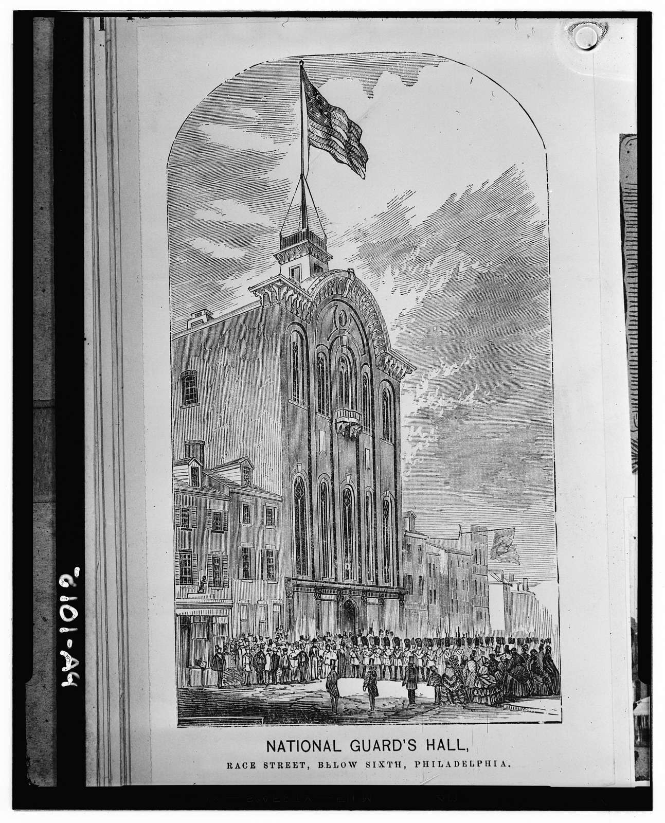 National Guard's Hall, 518-20 Race Street, Philadelphia, Philadelphia County, PA