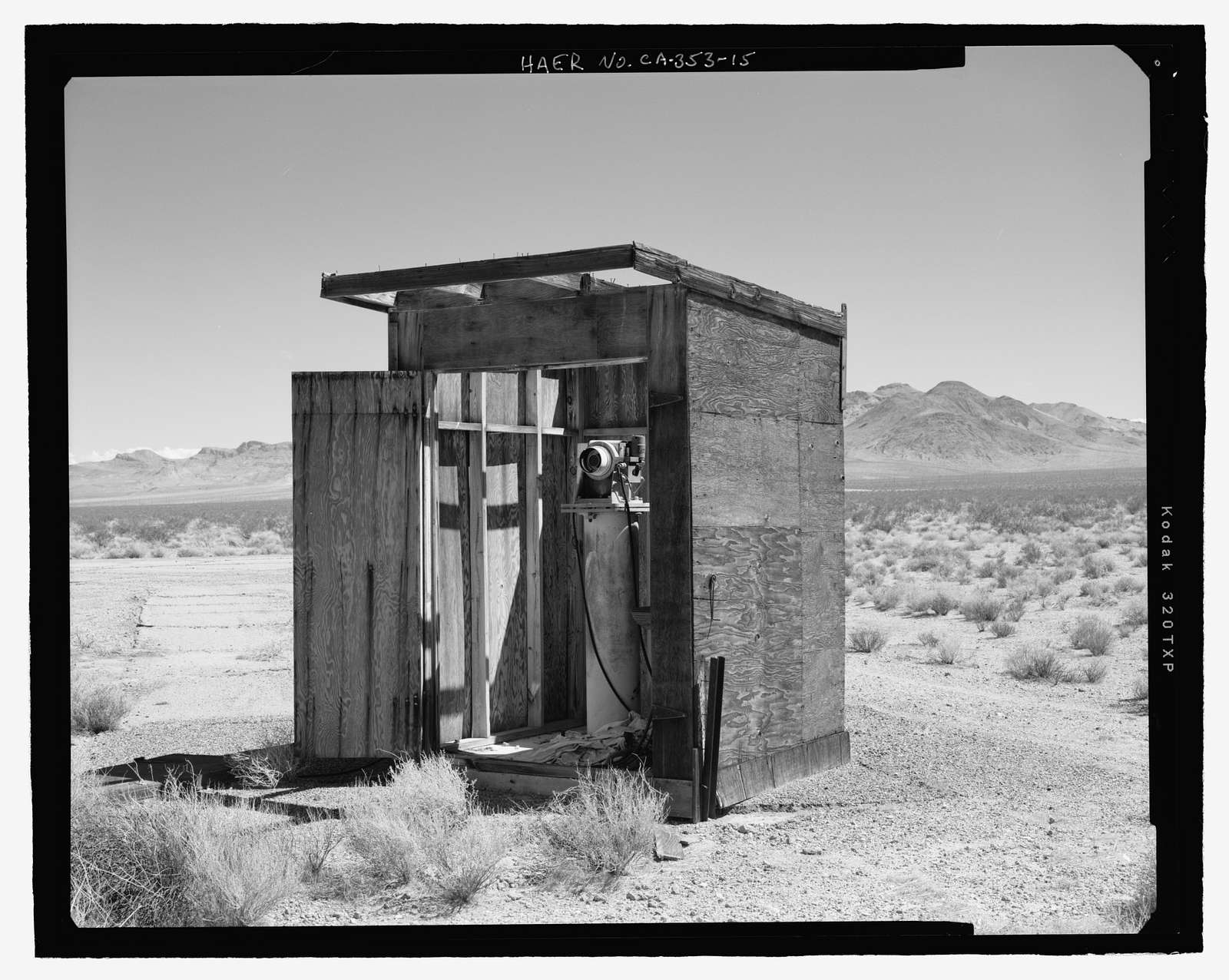 Naval Ordnance Test Station Inyokern, Randsburg Wash Facility Target Test Towers, Tower Road, China Lake, Kern County, CA