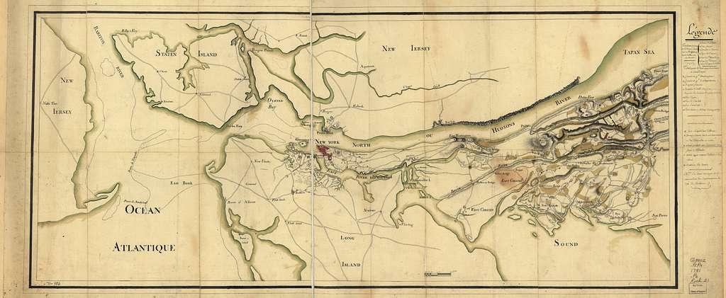 Position du camp de l'armée combinée a Philipsburg du 6 juillet au 19 aoust.