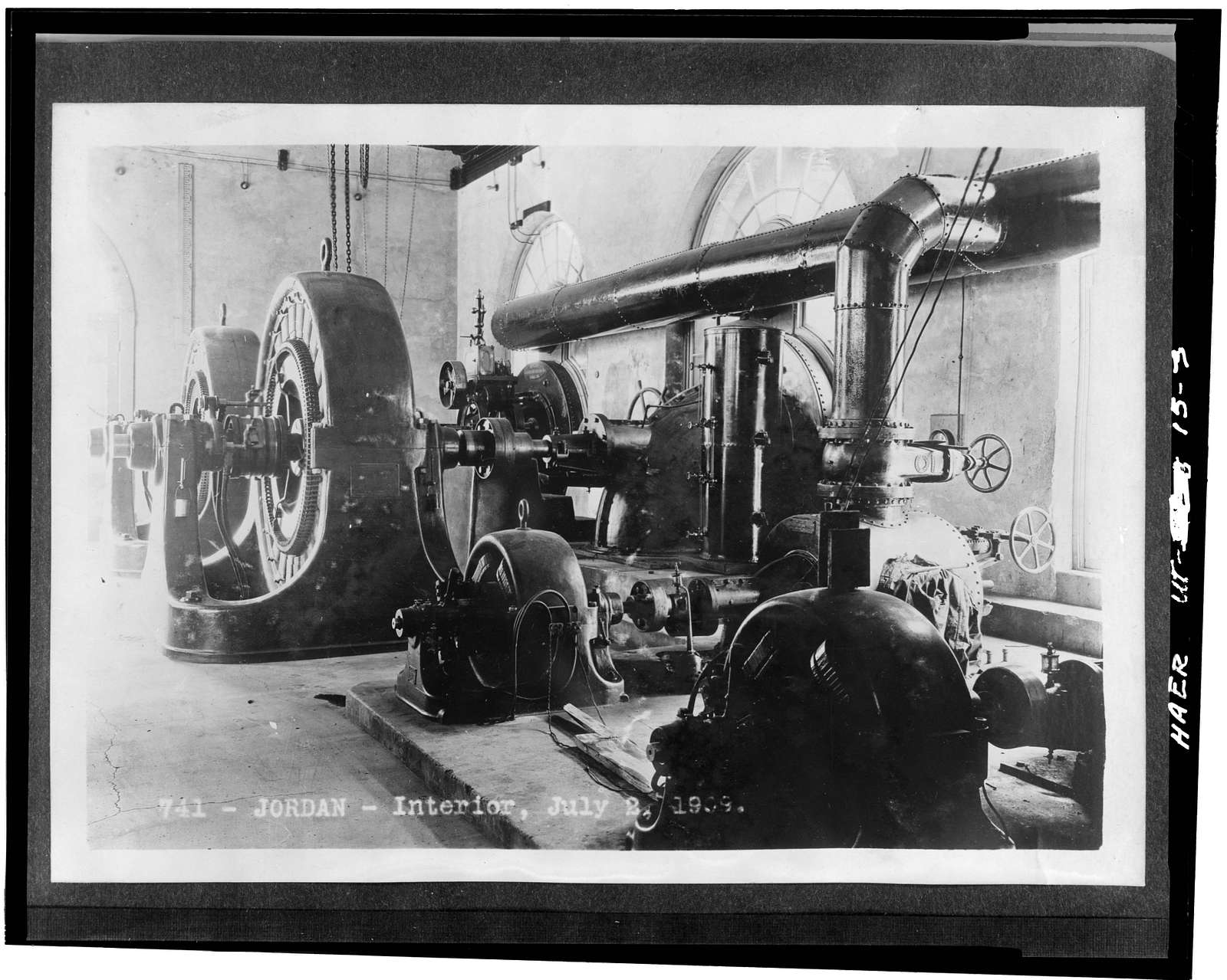 Salt Lake City Water & Electrical Power Company, Jordan Narrows Hydroelectric Plant, Jordan River, Riverton, Salt Lake County, UT