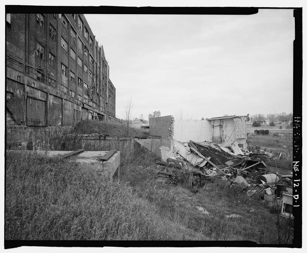 Skinner Meat Packing Plant, Outbuilding No. 2, 6006 South Twenty-seventh Street, Omaha, Douglas County, NE