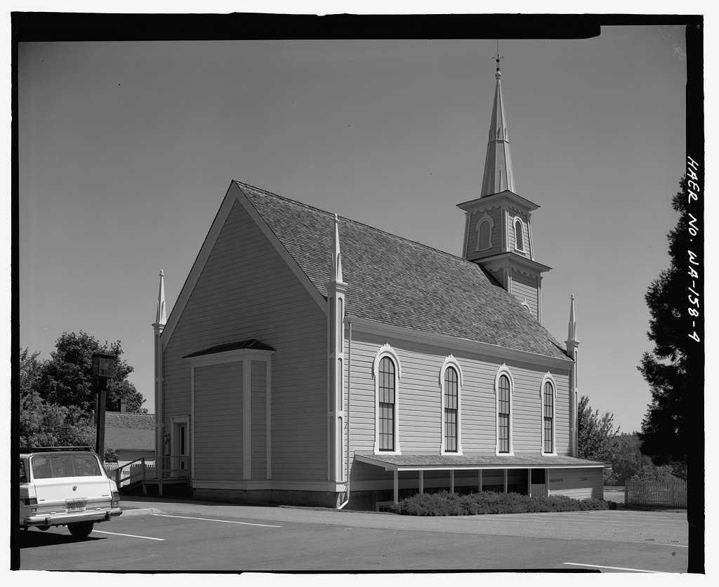 St. Paul's Episcopal Church, Rainier Avenue, Port Gamble, Kitsap County, WA