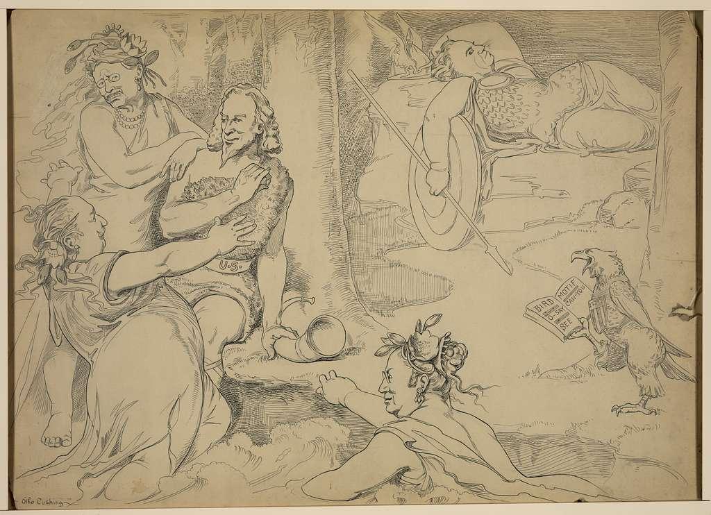 [The awakening of Bryanhilde: the Rhine maidens' warning]