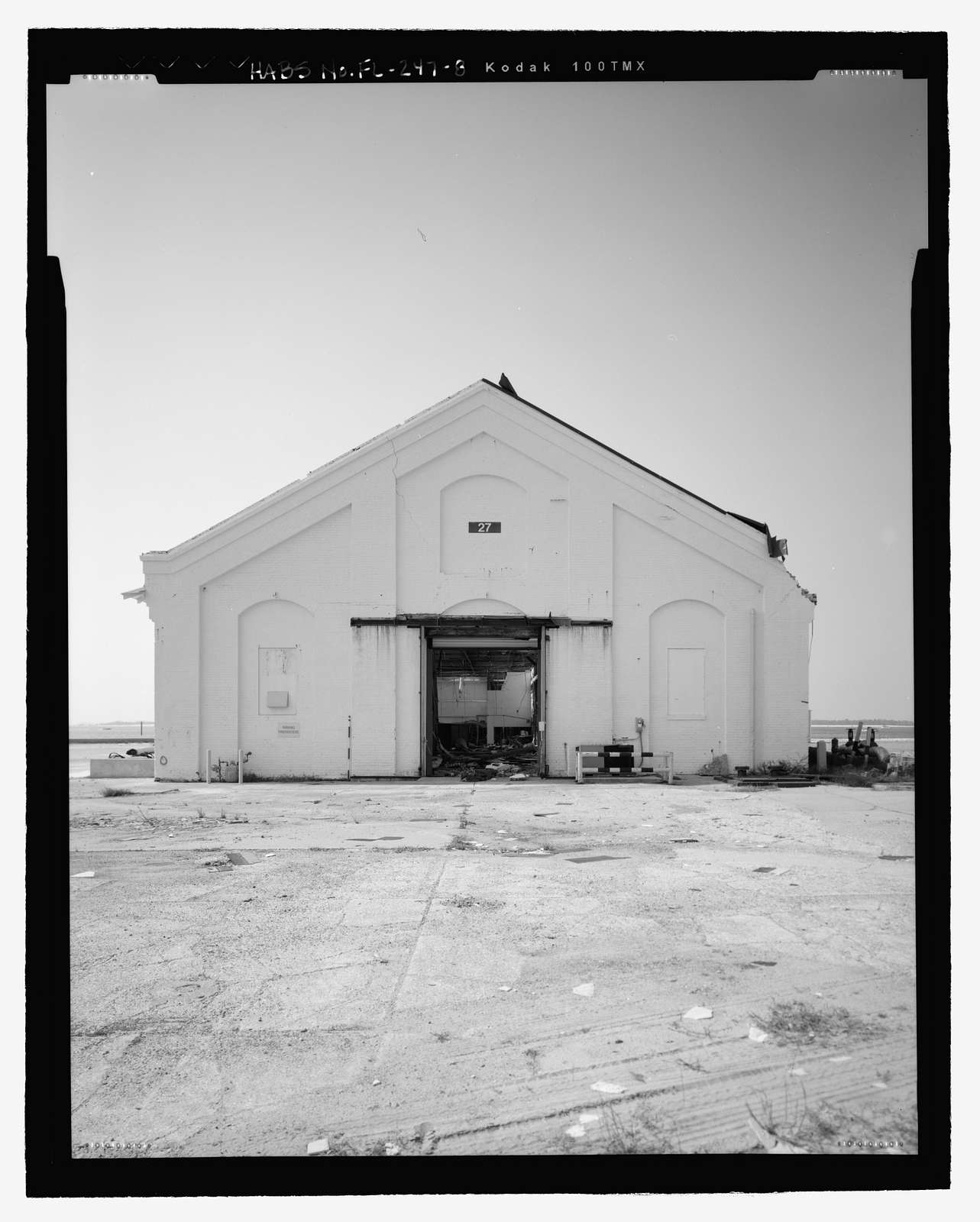 U.S. Naval Air Station, Coal Shed, 499 South Avenue, Pensacola, Escambia County, FL