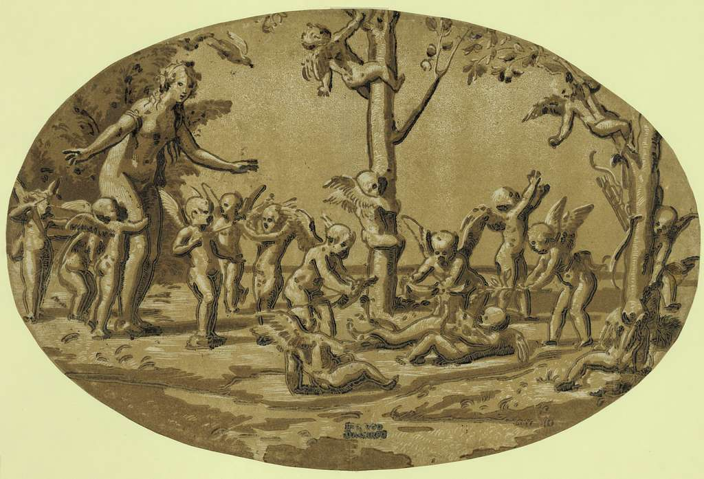Venus and cupids / perugo da carpo.