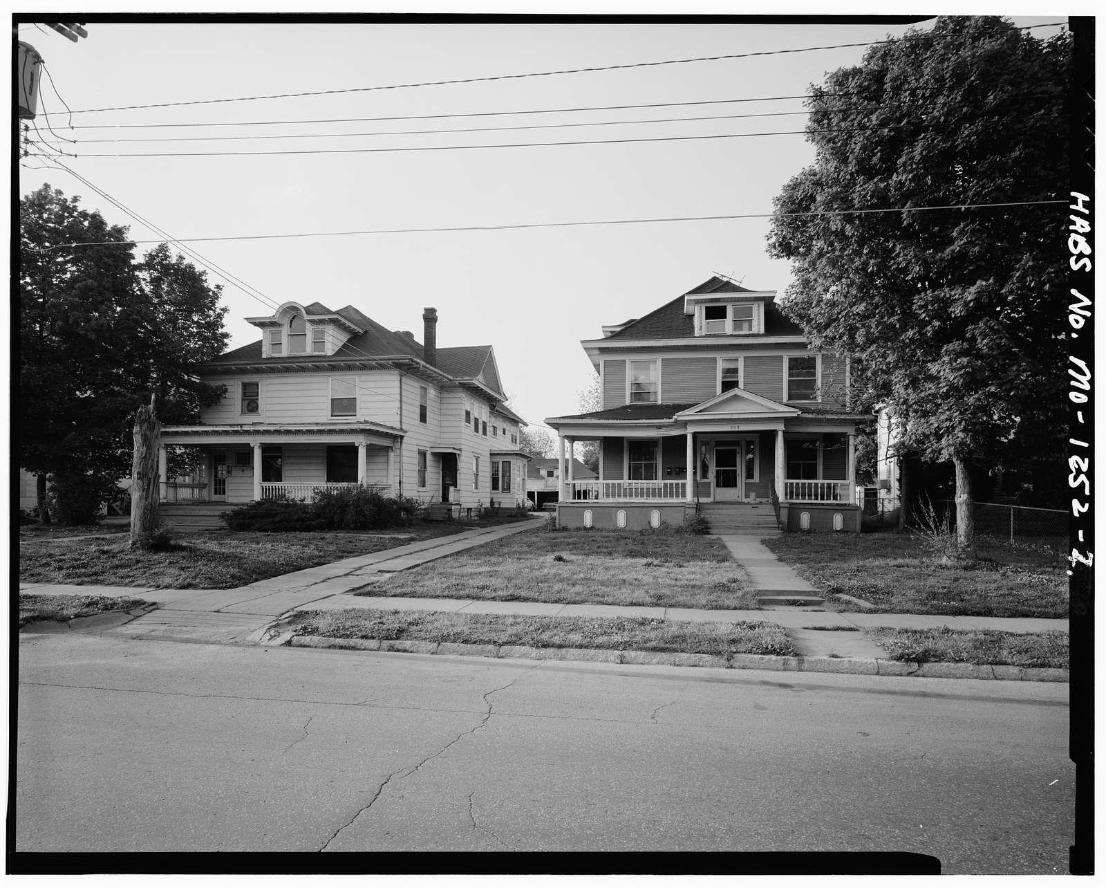 Walnut-Dollison Historic District, South Dollison, East Elm, East Cherry & East Walnut Streets, Springfield, Greene County, MO