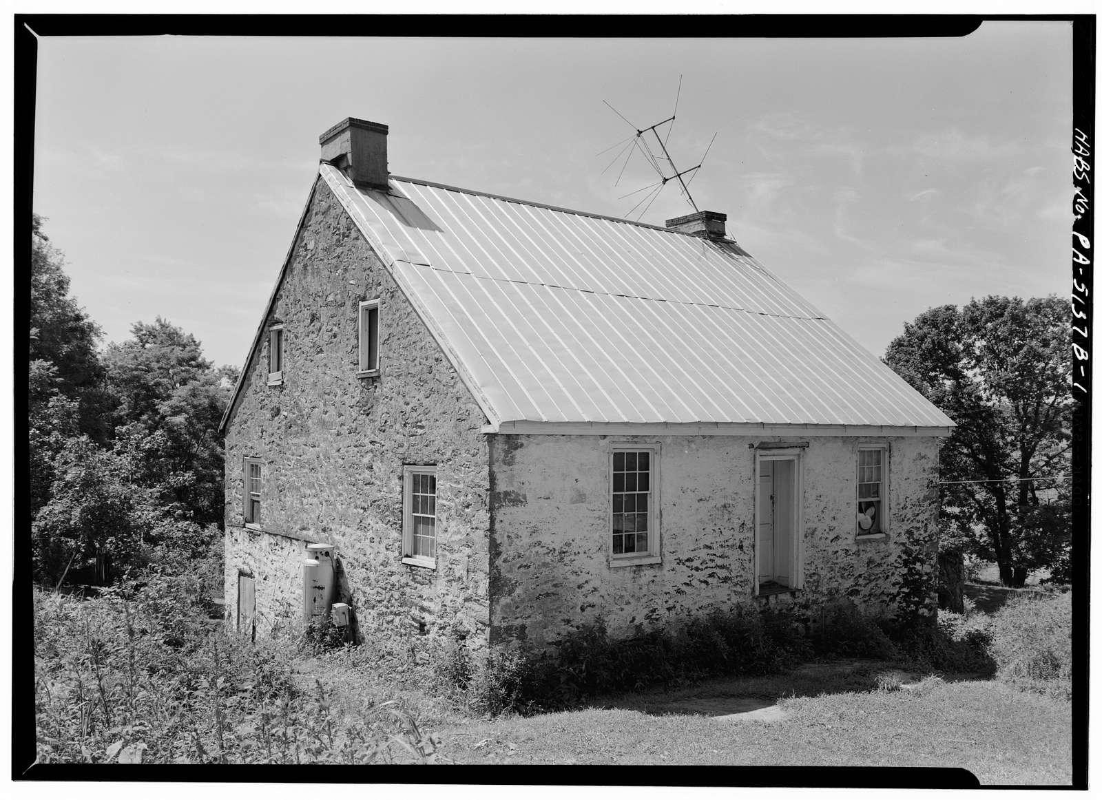 William Miller Tenant House, Elliott Road, Avondale, Chester County, PA